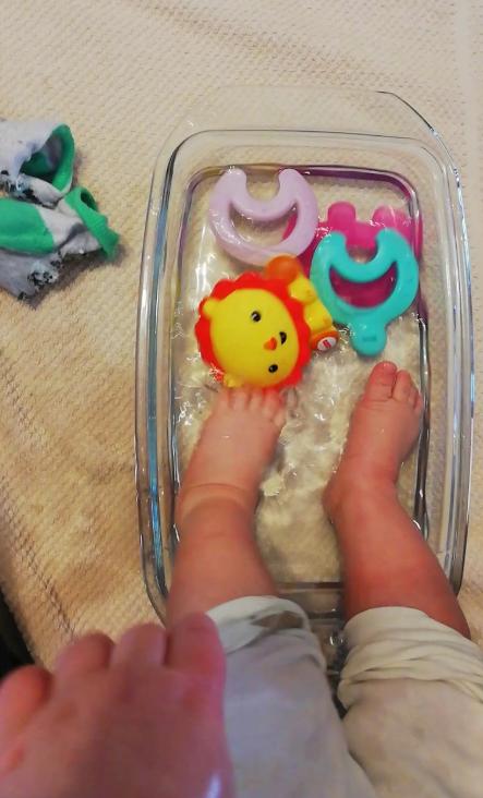 Activități pentru bebeluși 4-6 luni (Partea I) - Marieta Murg