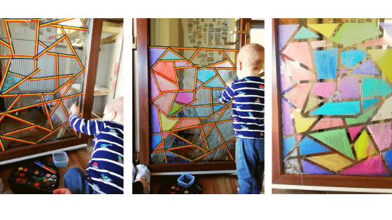pictura-la-doi-ani-pictat-geamuri