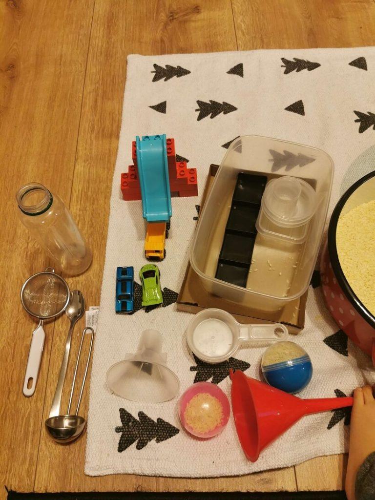 jocuri-cu-orez-echipament-necesar