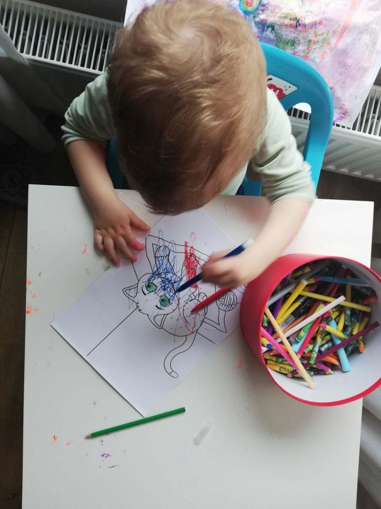 activitate-toddler-doi-ani-colorat-fise-printate